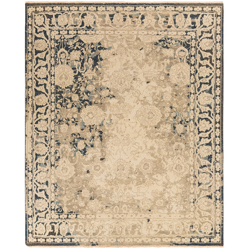 Surya ATF-1002 Artifact Area Rug in Cream/Camel
