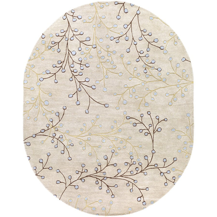 Surya ATH-5008 Athena Area Rug in Taupe/Dark Brown