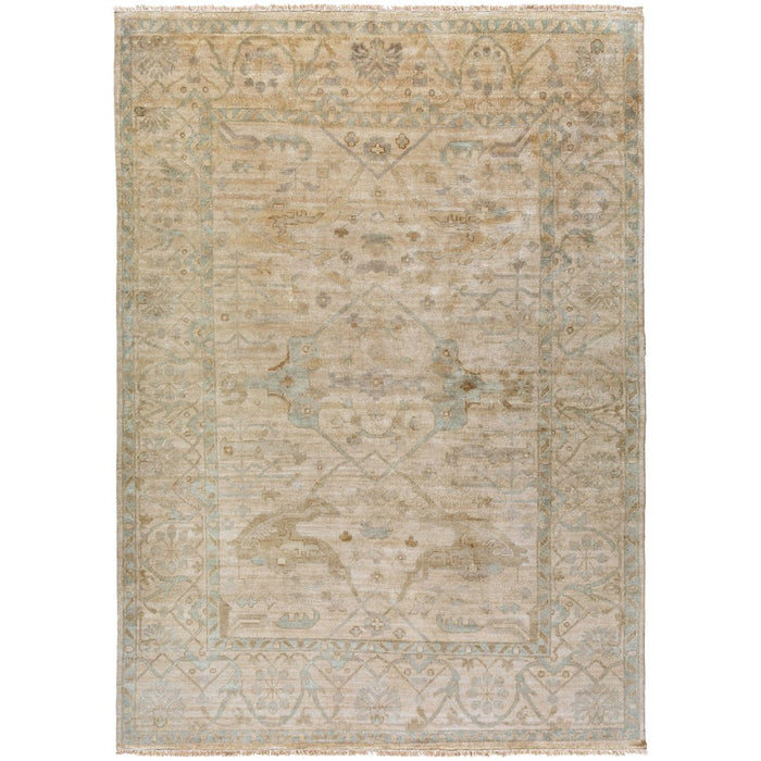Surya Antique Area Rug, Sage/Khaki