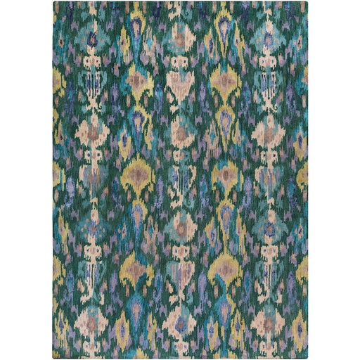 Surya Banshee Area Rug, Teal/Dark Green