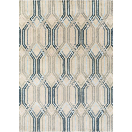 Surya Banshee Area Rug, Charcoal/Dark Blue