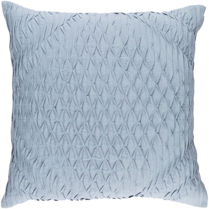 Baker by Surya Pillow, Denim