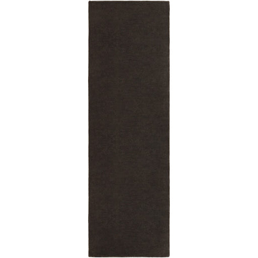 Surya BLL-3006 Bellatrix Runner, 2'6' x 8', Black
