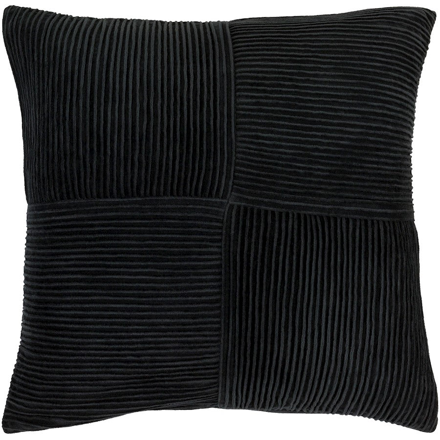 Conrad by GlucksteinHome for Surya Down Pillow, Navy