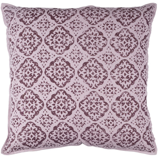 D'orsay by Surya Pillow, Mauve/Dark Purple