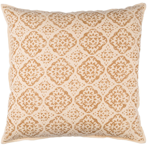 D'orsay by Surya Pillow, Beige/Camel