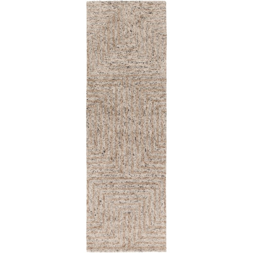 Surya FLC-8000 Falcon Runner, 2'6' x 8', Ivory/Taupe