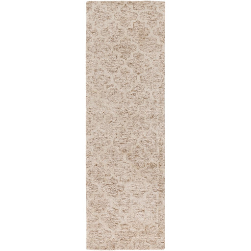 Surya FLC-8001 Falcon Runner, 2'6' x 8', Ivory/Taupe