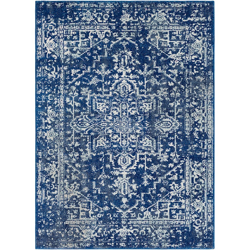 Surya HAP-1022 Harput Runner, 2' 7' x 7' 3', Dark Blue/Teal