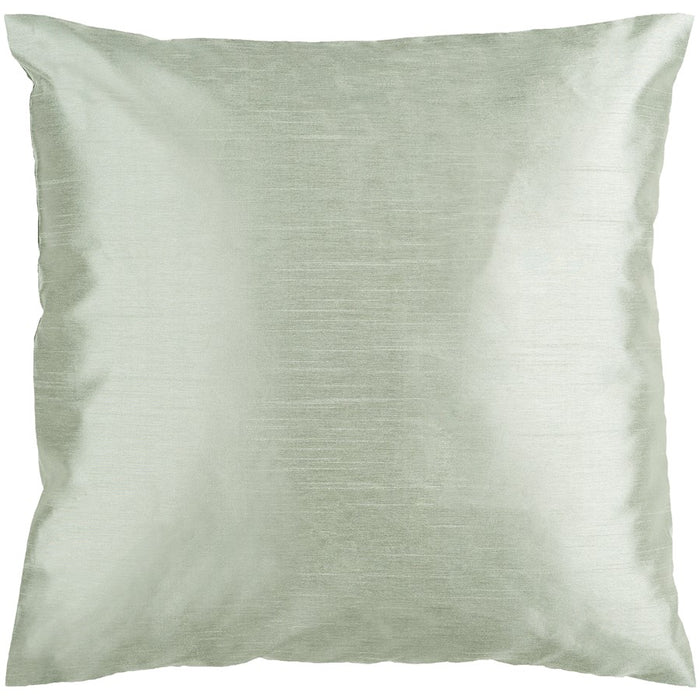 Solid Luxe by Surya Down Fill Pillow, Sea Foam