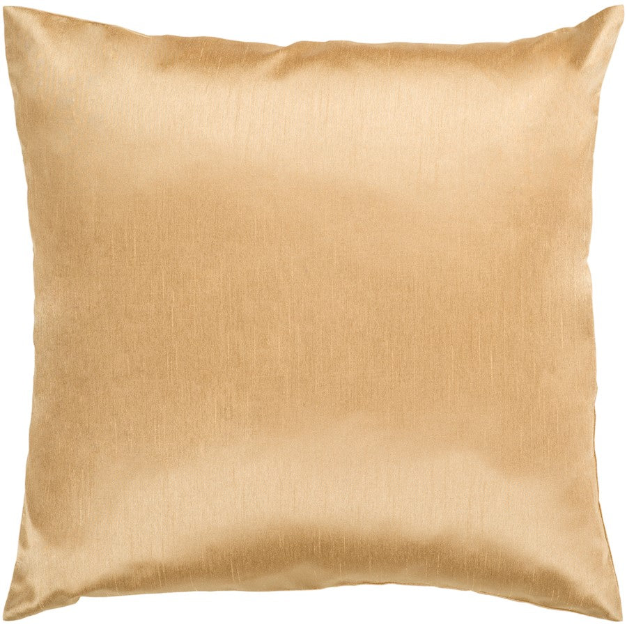 Solid Luxe by Surya Down Fill Pillow, Tan
