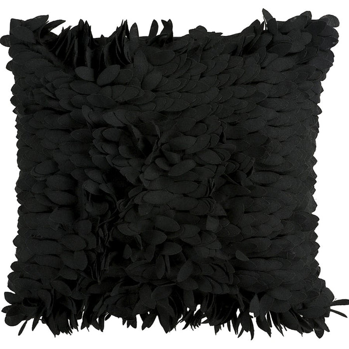 Claire by Surya Down Fill Pillow, Black