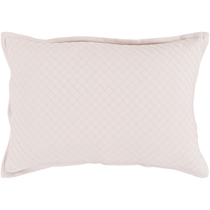 Hamden by Surya Down Fill Pillow, Blush