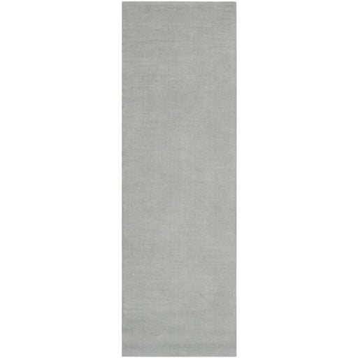 Surya M-211 Mystique Runner, 2'6' x 8', Medium Gray