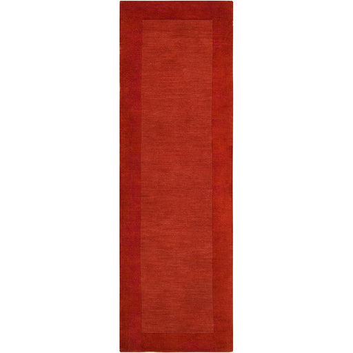 Surya M-300 Mystique Runner, 2'6' x 8', Burnt Orange