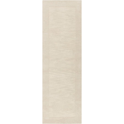 Surya M-348 Mystique Runner, 2'6' x 8', Cream/Khaki