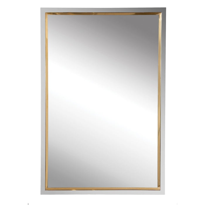Uttermost Locke Chrome Vanity Mirror - 09652