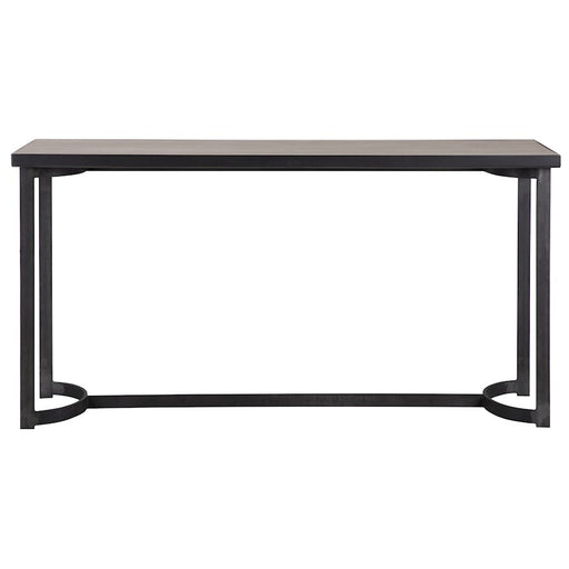 Uttermost Basuto Steel Console Table