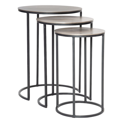 Uttermost Erik Metal Nesting Tables, Set of 3