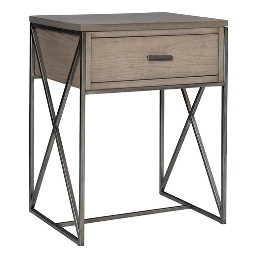 Uttermost Cartwright Gray Side Table