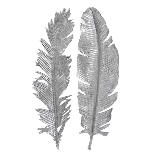 Uttermost Sparrow Silver Wall Decor Set of 2