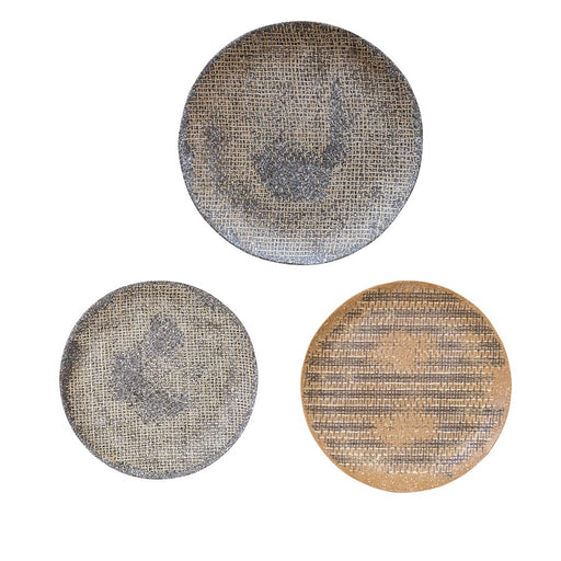 Uttermost Gaia Stone Plate Wall Decor Set of 3