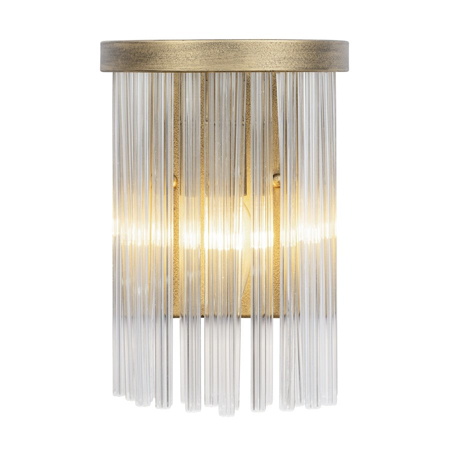 Varaluz Amelia 1-Light Sconce, Havana Gold - 322W01HG