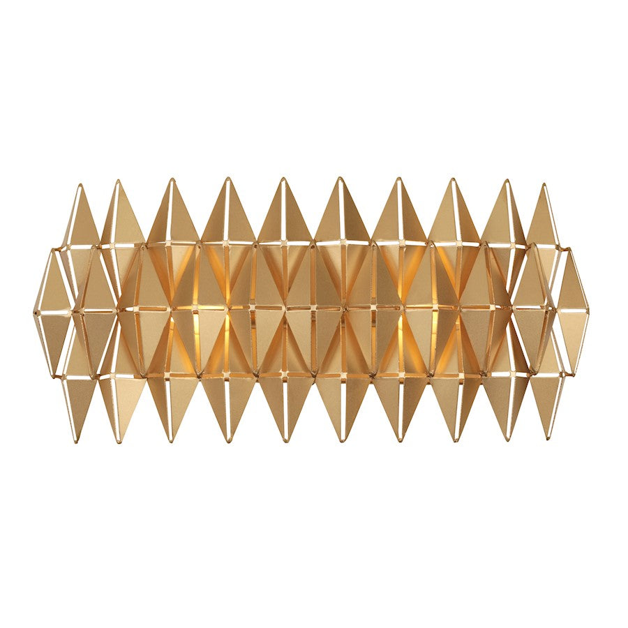 Varaluz Forever 2 Light Bath/Wall, French Gold - 342B02FG