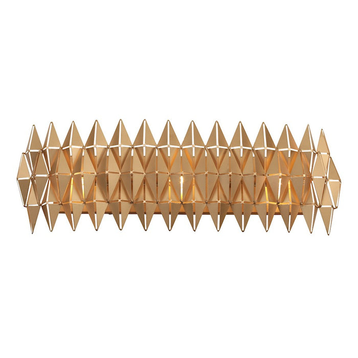 Varaluz Forever 3 Light Bath/Wall, French Gold - 342B03FG