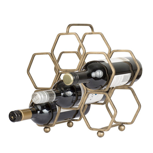 Varaluz Casa Hexagonal Wine Rack