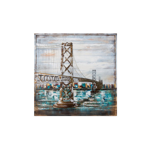 Varaluz Casa Oakland Bay Bridge Wall Art