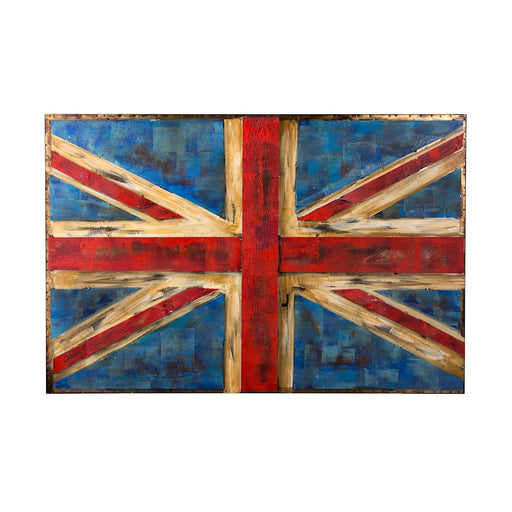 Varaluz Casa UK Flag Wall Art, Rustic