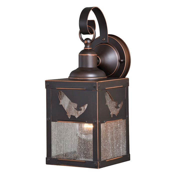 "Vaxcel 6"" Missoula Outdoor Wall Light, Burnished Bronze"