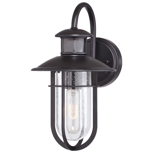 "Vaxcel Bar Harbor 1 Light Dualux 7.5"" Outdoor Wall, Bronze - T0542"
