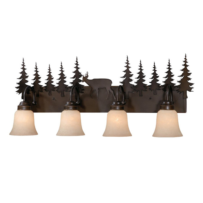 Vaxcel Bryce Bathroom Vanity Lighting, Burnished Bronze