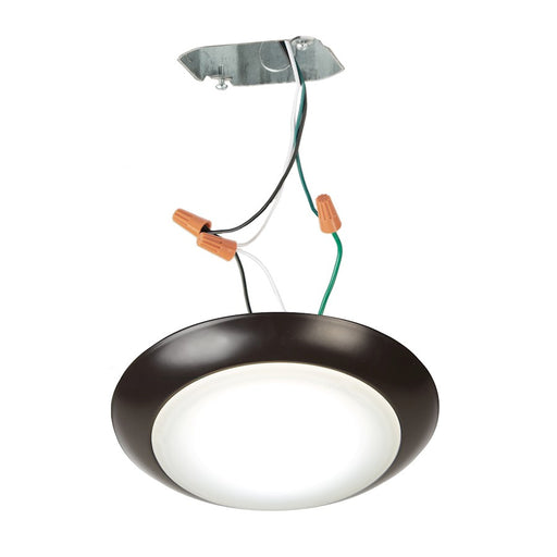 "WAC Lighting Disc 6"" LED ES Flush for Junction Box, Bronze - FM-306-930JB-BZ"