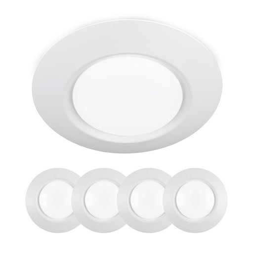 WAC I Can't Believe LED ES Flush, White (Pack of 4) - FM-616G2-930-WT-4