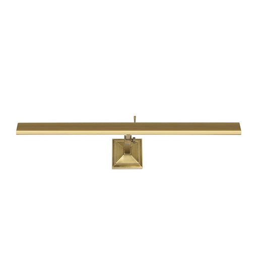 "dweLED Hemmingway 24"" LED 1-LT Picture Light 2700K, Brass/Frost - PL-LED24-27-BB"