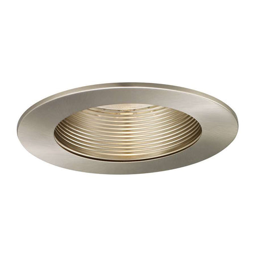 WAC Lighting R500 Series Trim Step Baffle, Brushed Nickel