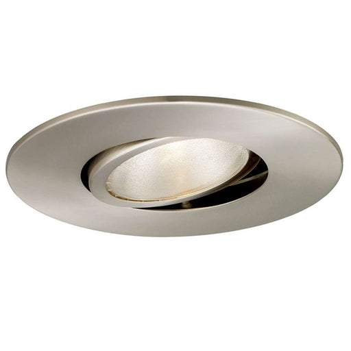 WAC Lighting R600 Series Adjustable Gimbal Ring, Brushed Nickel