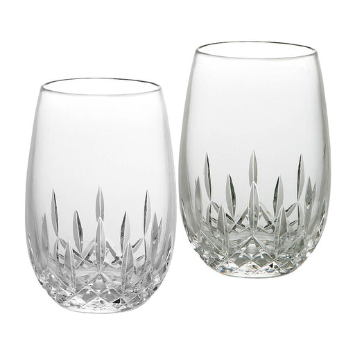 Waterford Lismore Nouveau Stemless White Wine in Pair