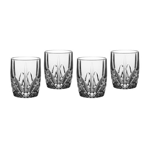 Waterford Brookside Double Old Fashion Set of 4