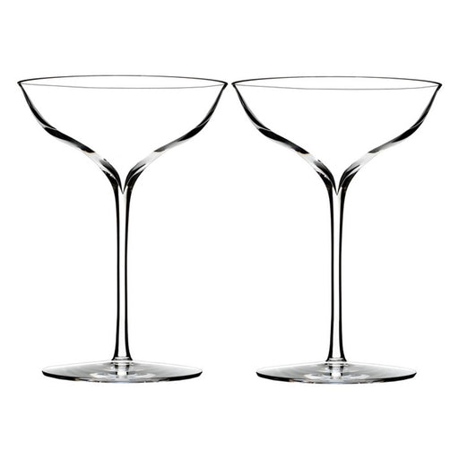 Waterford Elegance Champagne Belle Coupe in Pair