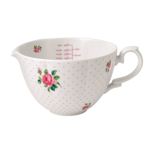 Royal Albert Cheeky Pink Roses Baking Bliss 34oz Measuring Pitcher