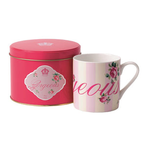 Royal Albert New Country Roses Gorgeous Mug in Tin