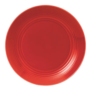 Gordon Ramsay by Royal Doulton Maze Chilli Red Dinner Plate