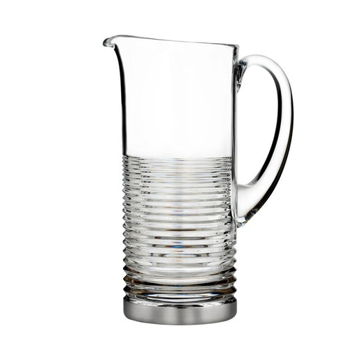 Waterford Circon Pitcher With Platinum Band