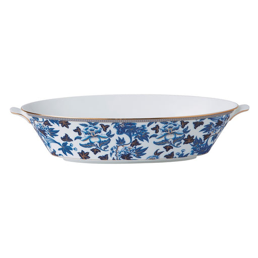 Wedgwood Hibiscus Oval Serving Bowl
