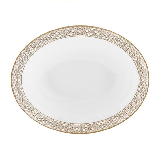 Waterford Lismore Diamond Open Vegetable Bowl
