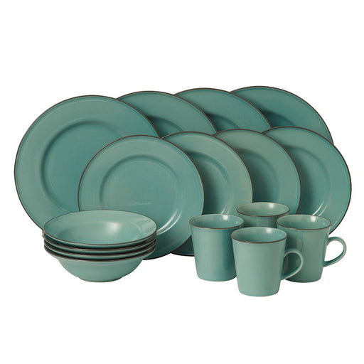 Gordon Ramsay by Royal Doulton Union Street Blue 16-Piece Set